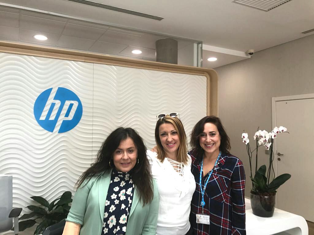 Formación empresas partners de HP España