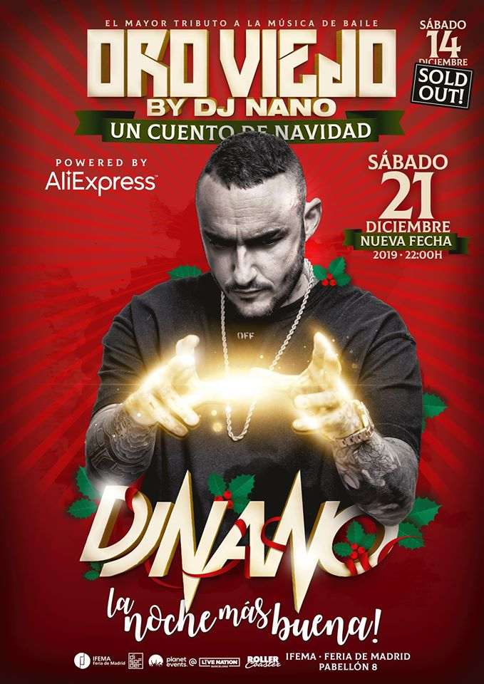 Oro Viejo by dj Nano el mayor tributo a la música de baile