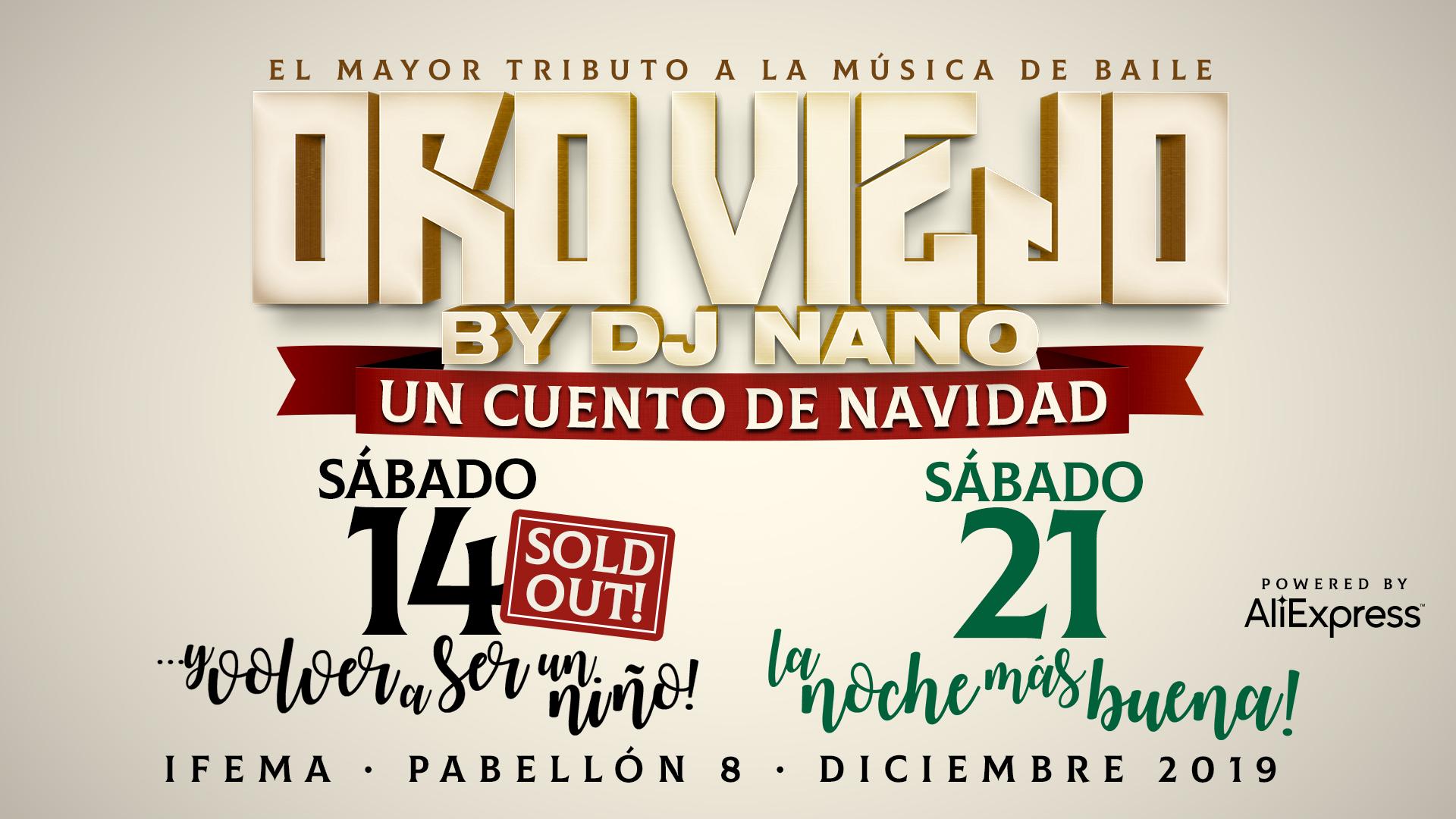 Oro Viejo by dj Nano: el mayor tributo a la música de baile